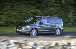 Ford Galaxy 2015, side, action