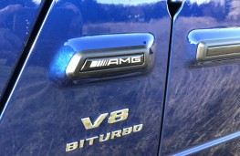 Mercedes-AMG G-Class, V8 badge