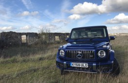 Mercedes-AMG G-Class, front