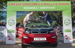 Green Dragon EV Rally and Show 2019, BMW i3 with Mark Sandford and Ian Walsh