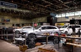 Geneva Motor Show, 2020, dismantling stands