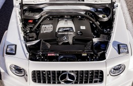 Mercedes-AMG G 63, 2018, engine