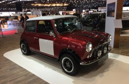 David Brown Mini Remastered, front