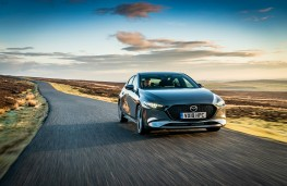 Mazda3, 2019, front, action