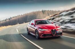 Alfa Romeo Giulia Quadrifoglio, 2017, action