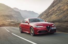 Alfa Romeo Giulia Quadrifoglio, 2017, front, action