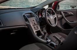 Vauxhall Astra GTC, interior, Route Napoleon