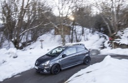 Vauxhall Corsa VXR ClubSport, side, action, Route Napoleon