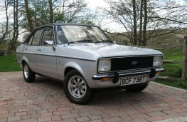Ford Escort 1.6 Ghia HR, 1979, front