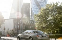 Rolls-Royce, Ghost Series II, rear