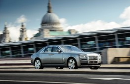 Rolls-Royce, Ghost Series II, front