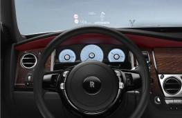 Rolls-Royce Ghost Series II, head up display