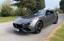 Maserati Ghibli Hybrid, 2021, front, static