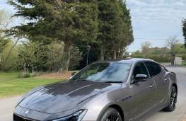 Maserati Ghibli Hybrid, 2021, front, upright
