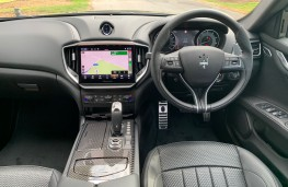 Maserati Ghibli, interior