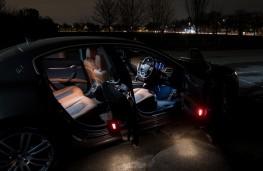 Maserati Ghibli, 2018, interior, night