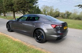 Maserati Ghibli, rear