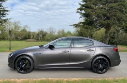 Maserati Ghibli, side