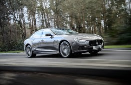 Maserati Ghibli, side, action