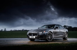 Maserati Ghibli, side, static