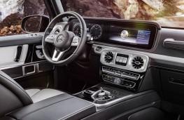 Mercedes G-Class, 2018, interior