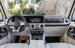 Mercedes-AMG G 63, 2018, interior