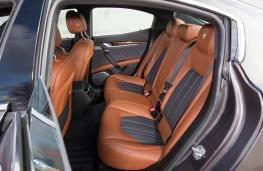 Maserati Ghibli, 2018, rear seats