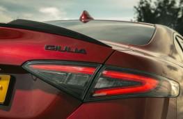 Alfa Romeo Giulia Quadrifoglio, 2020, badge