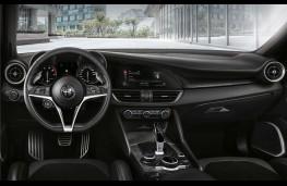 Alfa Romeo Giulia Veloce Ti, 2018, dashboard