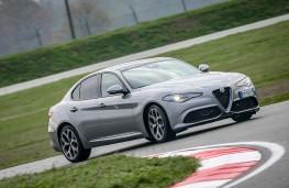 Alfa Romeo Giulia, Balocco, front, cornering