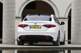 Alfa Romeo Giulia, rear