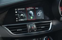 Alfa Romeo Giulia Quadrifoglio, 2020, display screen