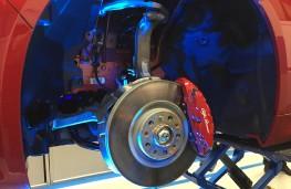 Alfa Romeo Giulia, Balocco, front suspension