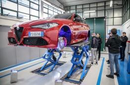 Alfa Romeo Giulia, Balocco, workshop