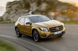 Mercedes-Benz GLA, 2017, front, action