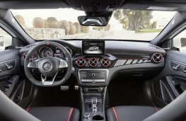 Mercedes-AMG GLA 45, 2017, interior