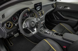 Mercedes-AMG GLA 45 4MATIC Yellow Night Edition, 2017, interior