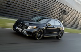 Mercedes-AMG GLA 45 4MATIC Yellow Night Edition, 2017, front