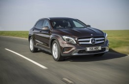 Mercedes GLA 220 CDI 4MATIC, front, action