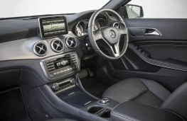 Mercedes GLA 220 CDI 4MATIC, interior