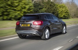 Mercedes GLA 220 CDI 4MATIC, rear, action