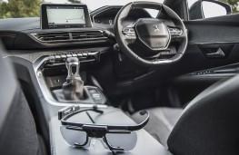 Peugeot driver eye testing, Tobii Pro Glasses 2