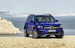 Mercedes-Benz GLB, 2019, front, static