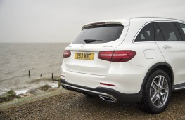 Mercedes-Benz GLC, boot