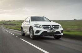 Mercedes-Benz GLC, front, action