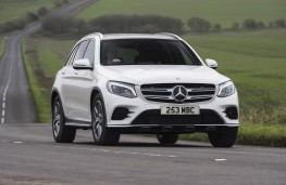 Mercedes-Benz GLC, front