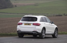 Mercedes-Benz GLC, rear