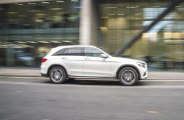Mercedes-Benz GLC, side