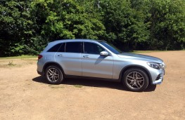 Mercedes-Benz GLC, side, left