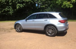 Mercedes-Benz GLC, side, right